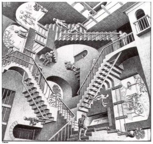 MC Escher Relativity